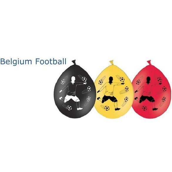 Set van 3 ballons in Belgische kleuren