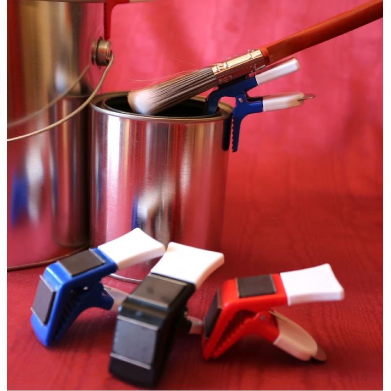 magnetische verfborstel houder