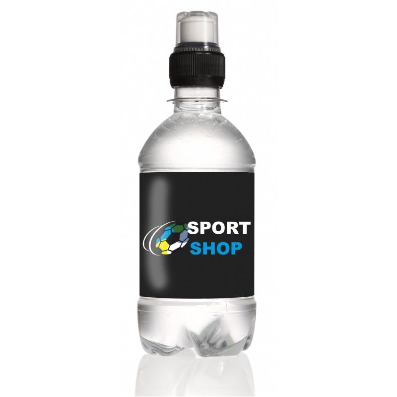 Flesje water met sportddop