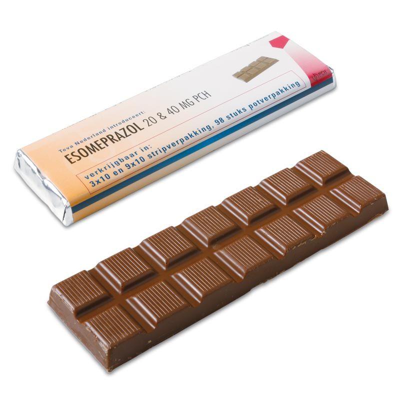 Reep chocolade met eigen wikkel