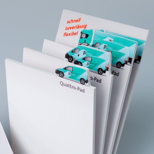 Unieke 3D papierblok