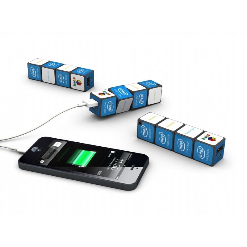 Rubik's kubus noodbatterij