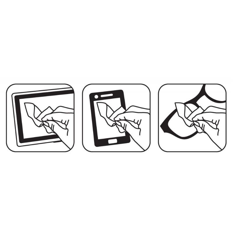 Ipad microfiber doekje