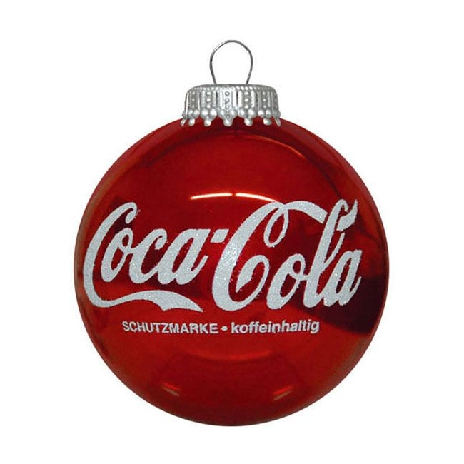 Kerstbal met logo