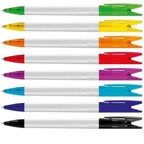 Stabilo pen met clip met klemfunctie