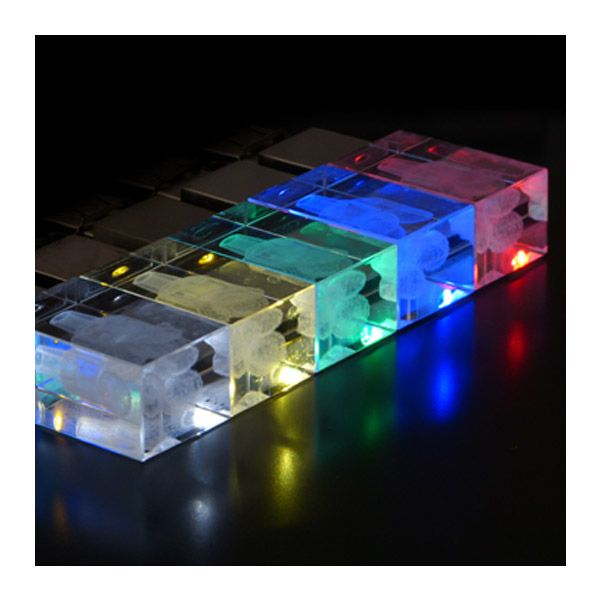 USB Stick Crystal 3D Drive