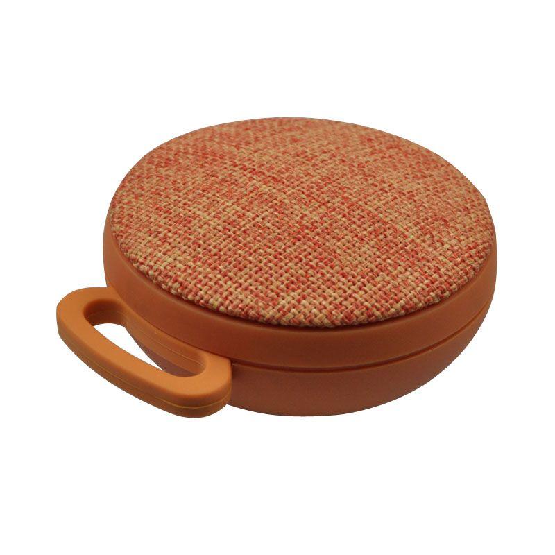 Bluetooth speaker met stoffen bekleding