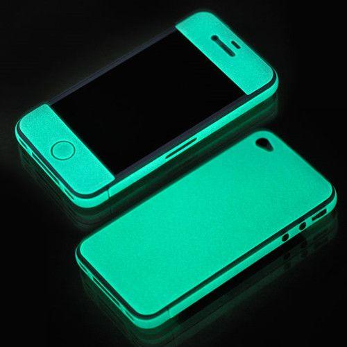 Glow in the dark bescherming van smartphone