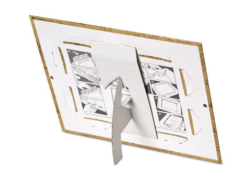 Papieren fotolijst