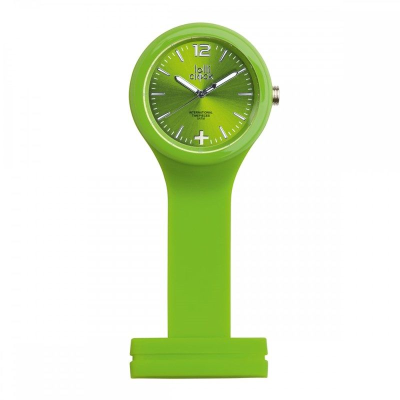 Horloge als broche