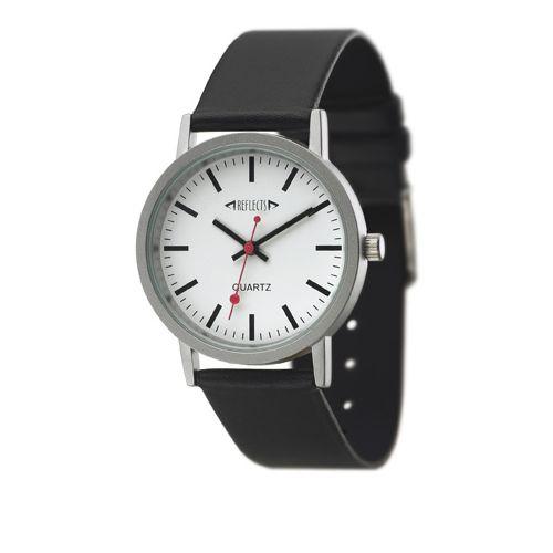 Mat chromen horloge