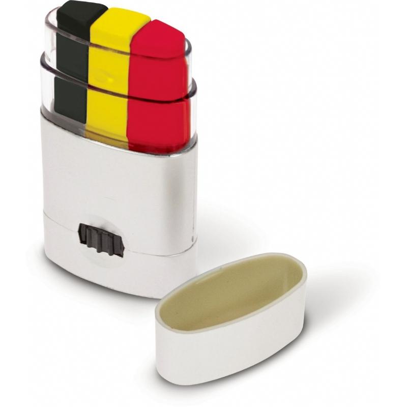 Facepaint Belgische driekleur