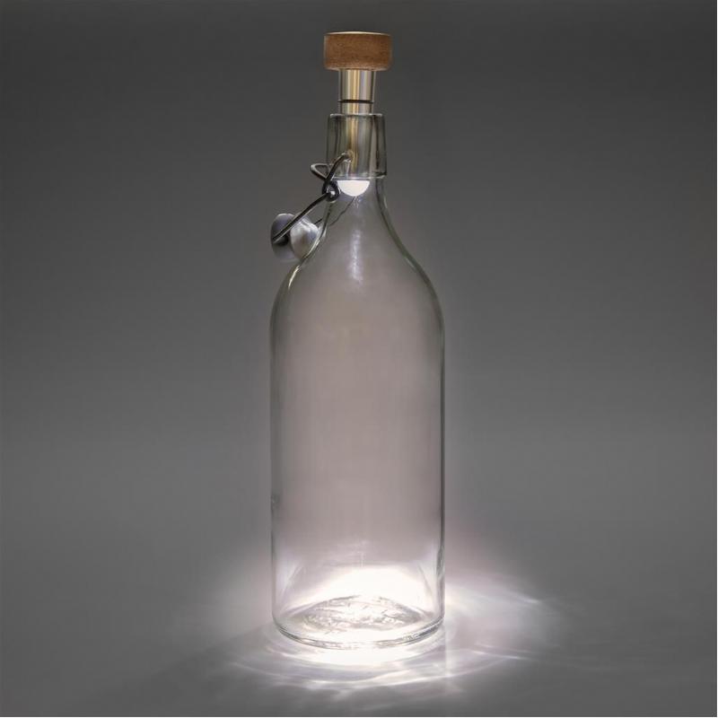 Licht je fles op
