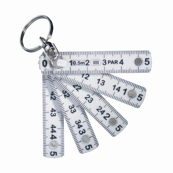 Mini duimstok en sleutelhanger