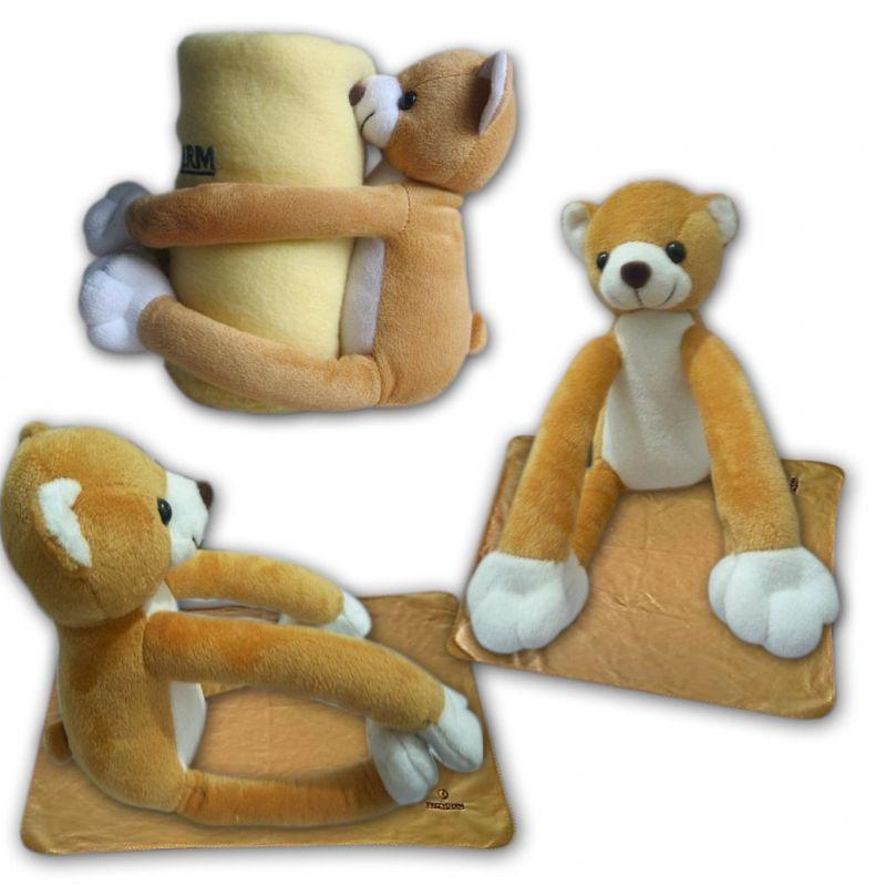 Teddybeer deken