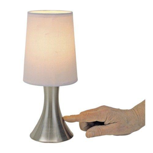 Tafellamp werkt d.m.v. aanraking!