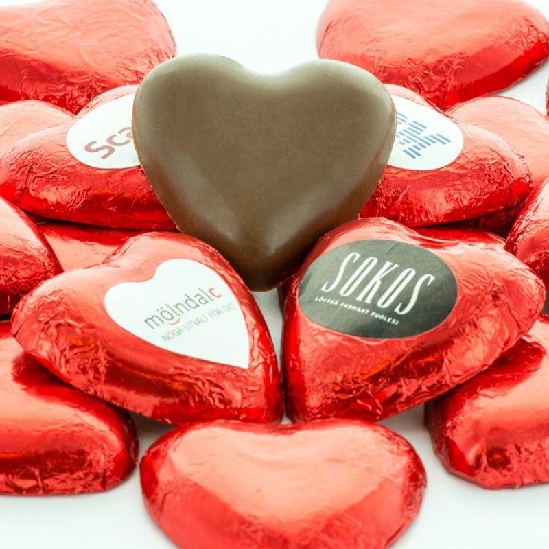 Melkchocolade Hart