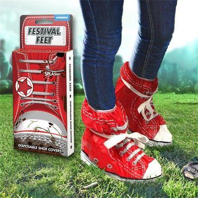 Festival Feet - Schoenbeschermers voor festivalgangers.