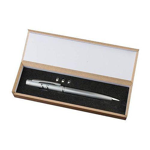 Pen laserpointer en LED