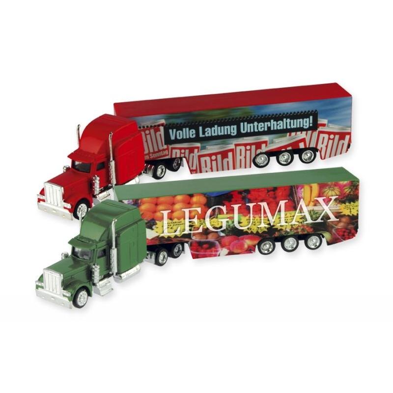 Miniatuur vrachtwagen