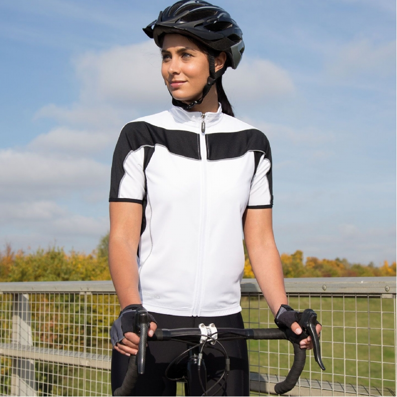 Dames fietsshirt korte mouw