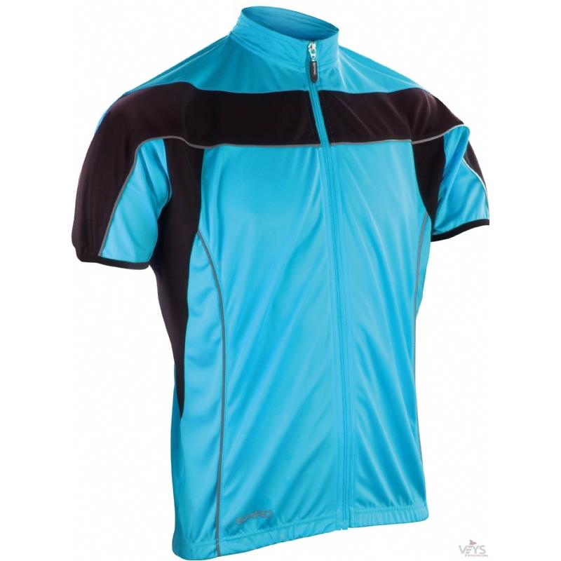 Heren fietsshirt korte mouw