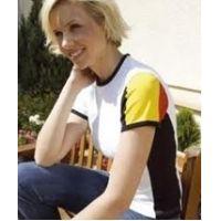 T-shirt in Belgische 3 kleur vrouwen