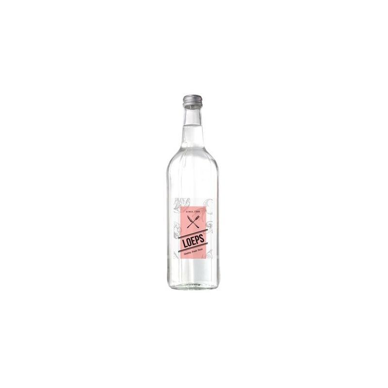 Bronwater 750 ml in glazen fles