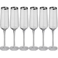 Set 6 champagneglazen