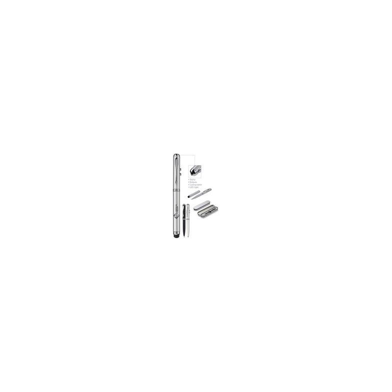 Metalen balpen 4 in 1