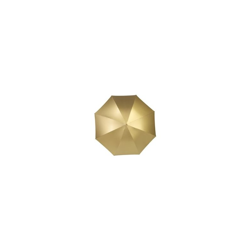 even opvallen : gouden paraplu
