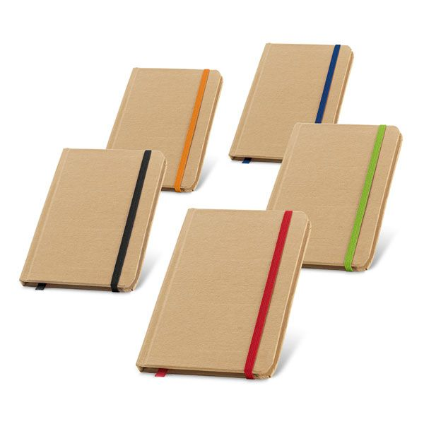 Notitieboekje van gerecycled papier