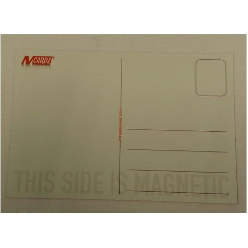 Magnetische postkaart