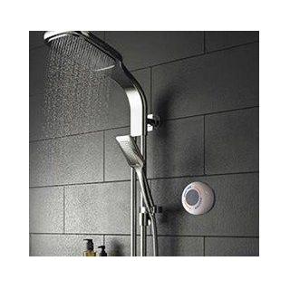 Draadloze speaker voor onder de douche.