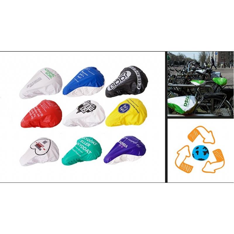 Ecologische zadelhoes voor de fiets