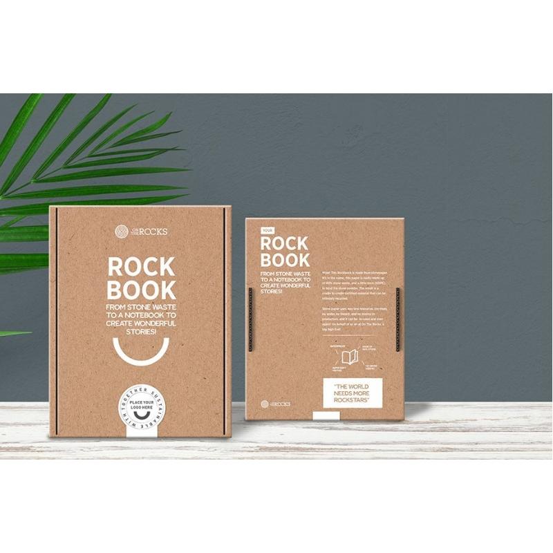 Notitieboek gemaakt van stenen