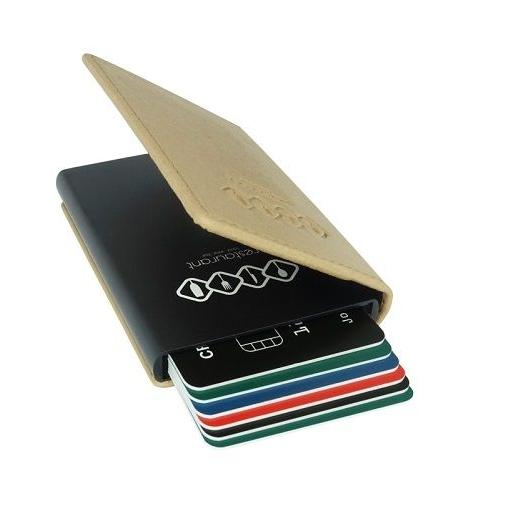 RFID kaarthouder met PU-lederen mapje