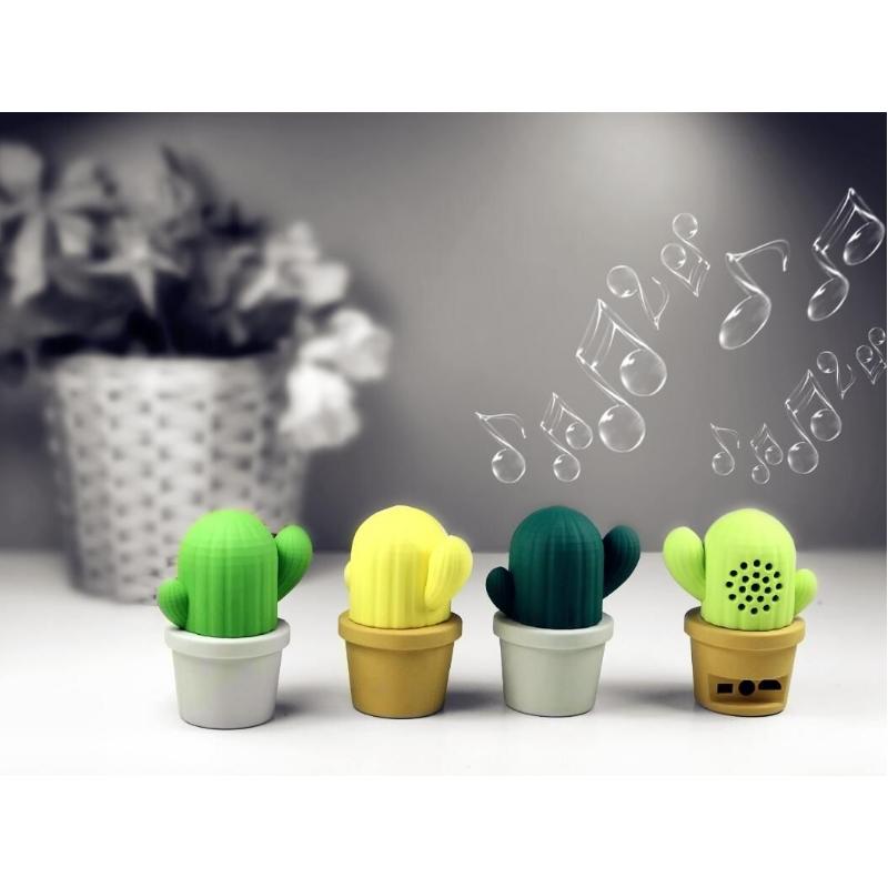 Bluetooth speaker in de vorm van een cactus