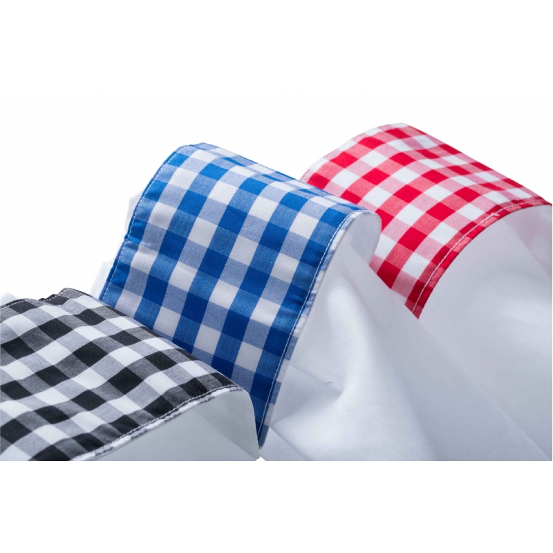 Overhemd met geruit contrast