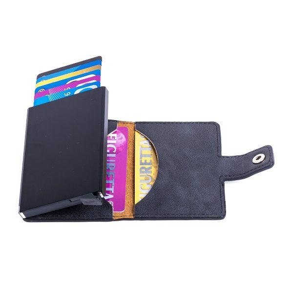 Kunstlederen Figuretta RFID Card Protector