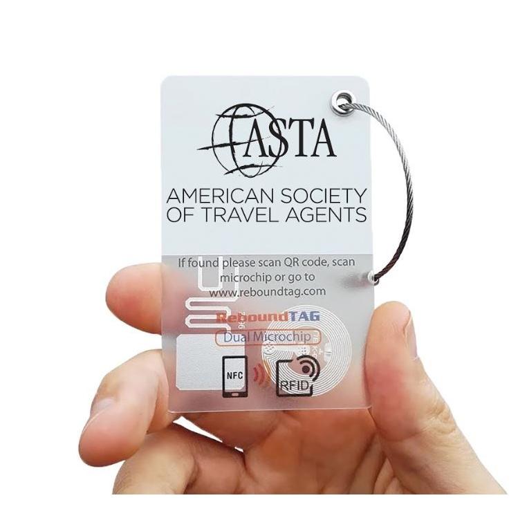 Traceer uw bagage met deze microchip, waar u ook bent.
