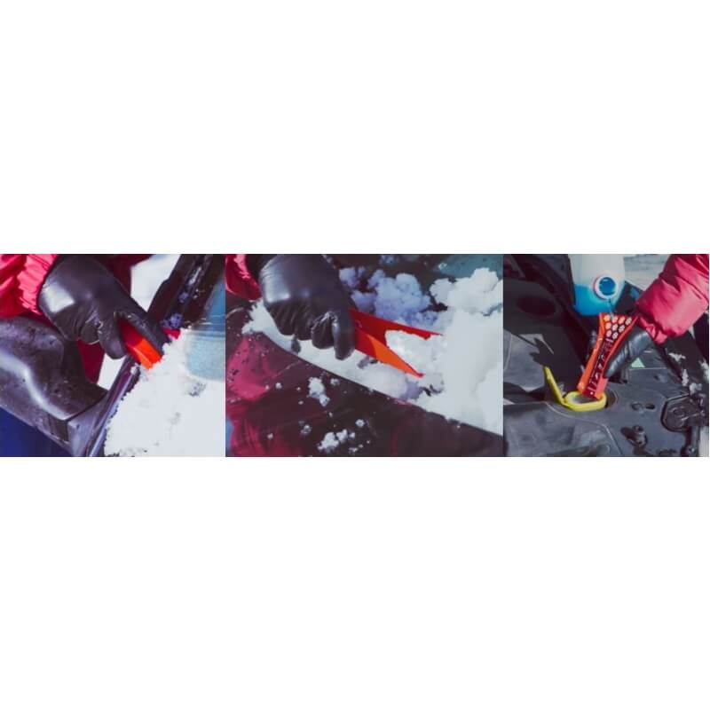 Origami plooien tot ijskrabber, vloeistoftrechter of wenskaart