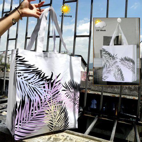 Een magische tas die van kleur kan veranderen