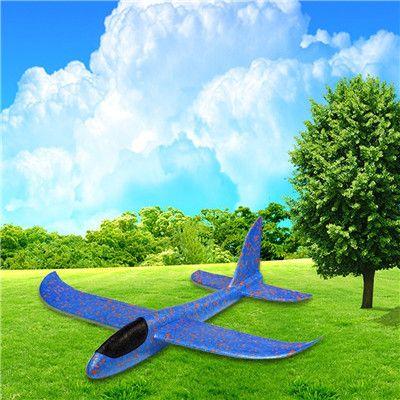 Zweefvliegtuig in mousse