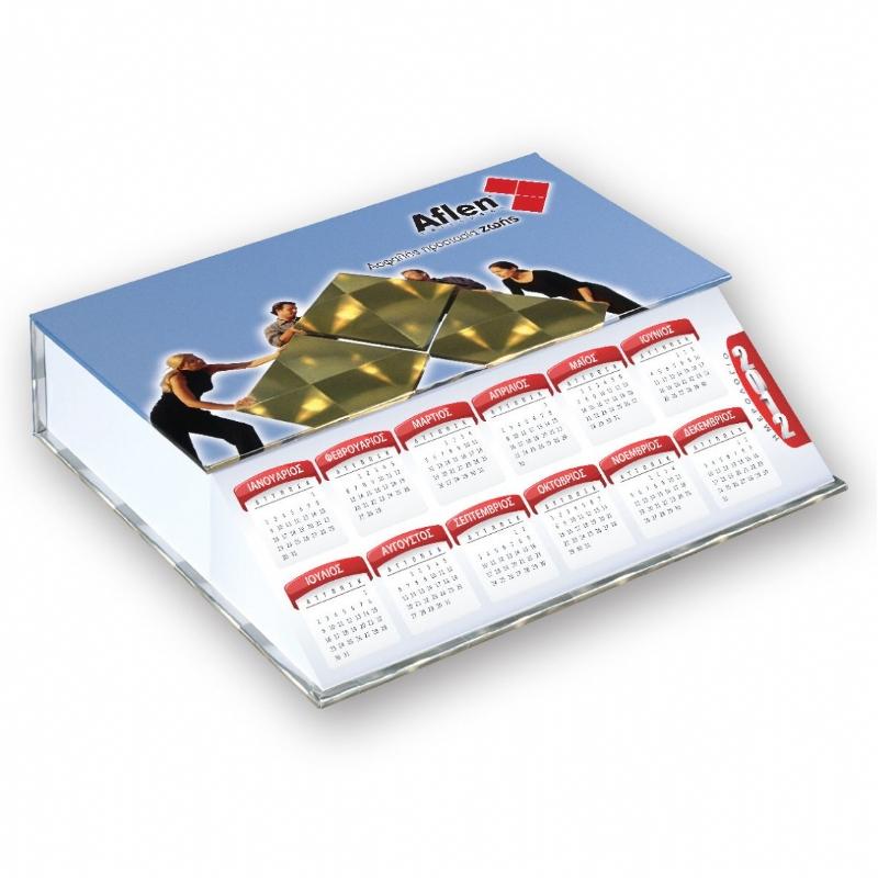 Papierblok kalender