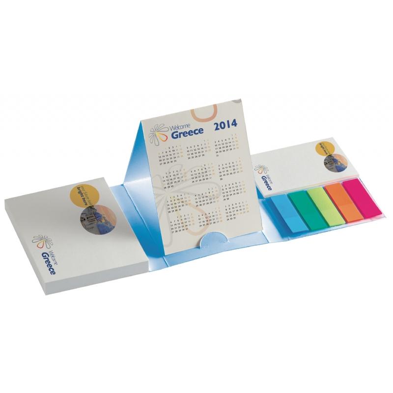 Papierblokje met kalender