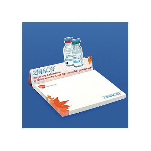 Zelfklevend papierblokje met display