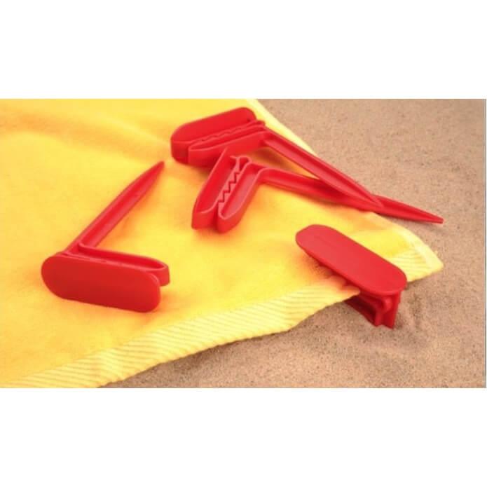 Bevestigingsclip voor je strandhanddoek