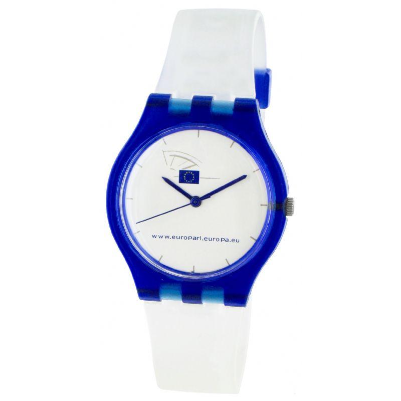 Trendy horloge in kunststof