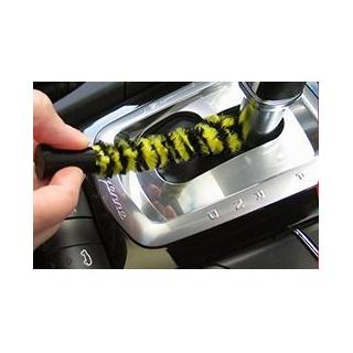 Een stofvrije auto met handige 3D borstel
